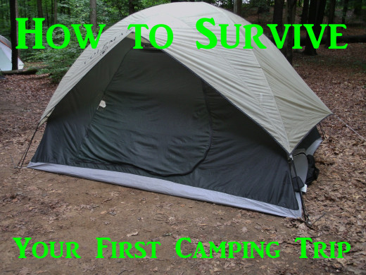 Learn the basics of camping in the woods, from clothing to food, equipment and games.