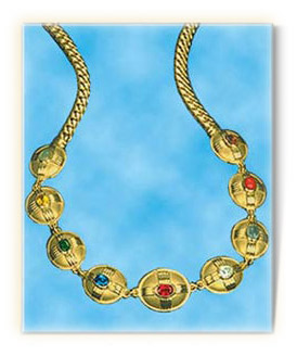 Navratna necklace presented to HM the queen