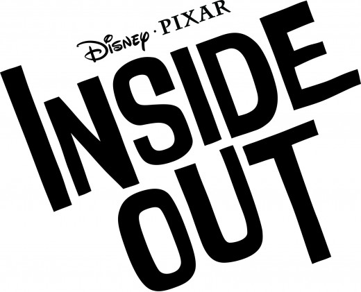 "Pixar has released the official logo for the new film ""Inside Out."""