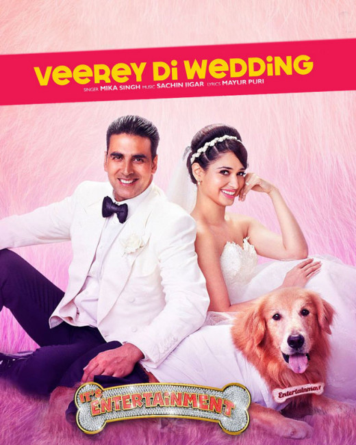 Veerey Di Wedding, a new dance number for the wedding season. Out and out party number is sung by Mika Singh.On Biscoot Showtym.