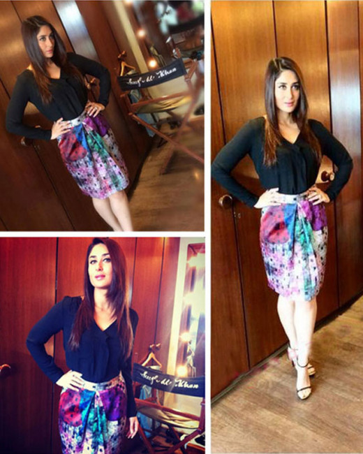 Kareena Kapoor Khan is one gorgeous diva in Bollywood. So when it came to the promotions of her upcoming film Singham Returns, the actress totally rocked each and every look. Take a look at the pictures on Biscoot Showtym