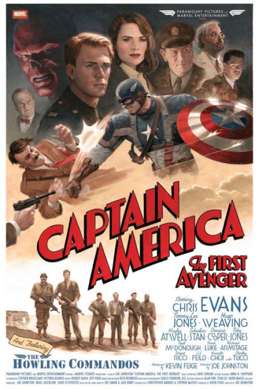 """(Fan Art) - Chris Evans in """"Captain America: The First Avenger"""""""