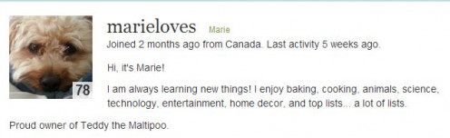 http://marieloves.hubpages.com/