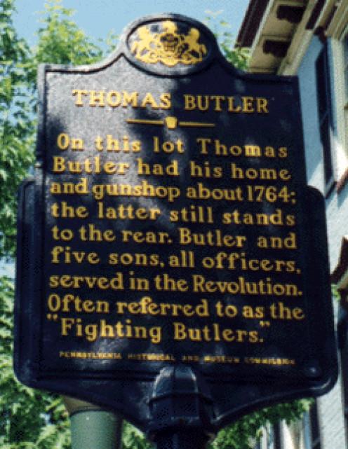 Sign in Carlisle, Pennsylvania; photo taken in May 2000