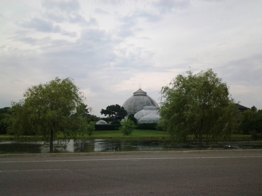 Conservatory at Belle Isle State Park.