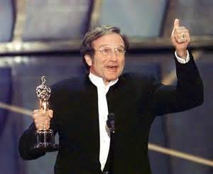 Williams wins his Oscar for Good Will Hunting