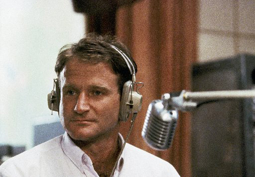 "Williams in  ""Good Morning, Vietnam"""