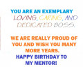 Best Happy Birthday Messages to a Mentor Boss