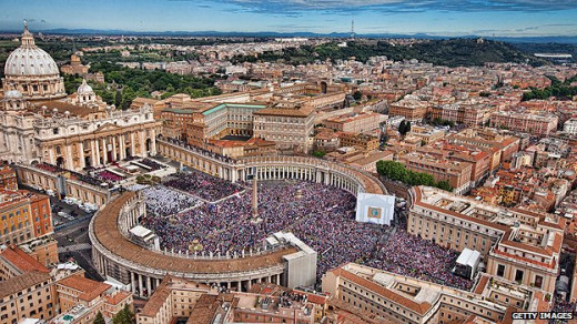 Vatican City: Brought to you by the spoils of war.