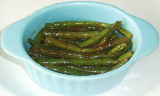 Cumin is but one of the spices added to flavour these delicious green beans