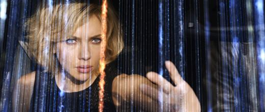 Scarlett Johansson in the film Lucy.