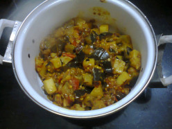 A New Taste of Brinjal Curry (Eggplant Recipe) That Is King of Indian Cuisines
