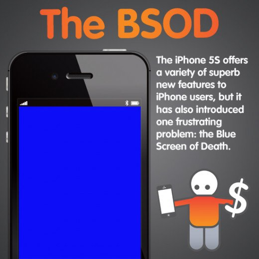 iPhone 5S Blue Screen After Screen Replacement