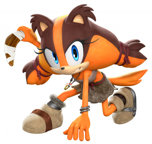 Sticks the Jungle Badger in Sonic Boom.