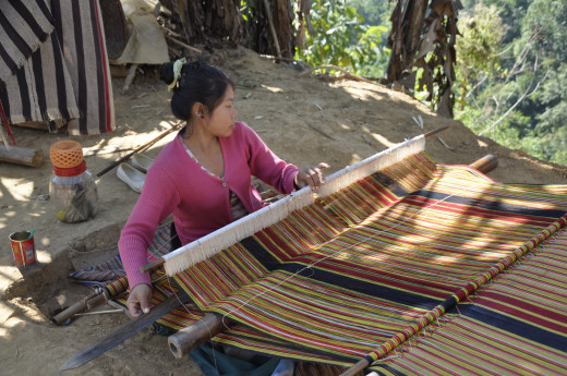 Handicrafts Informal Home Business in Mizoram India