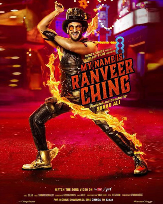 We bring you some exclusive stills of Ranveer from his new ad commercial, My Name Is Ranveer Ching.On Biscoot Showtym.