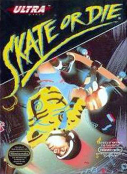 "I'm not sure where the ""die"" part comes in. You don't die anywhere in this game. However, the box art was cool. A whole generation of kids wanted a skating game like this, and they got it. Straight up the butt, because the game was not good."