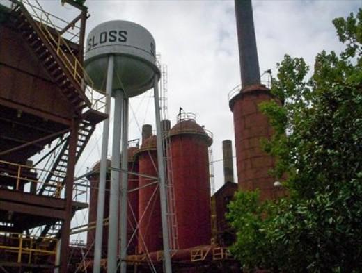 Sloss Furnace in Birmingham, AL