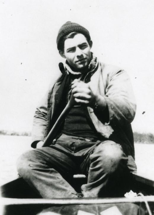 Hemingway in Northern Michigan, circa 1920