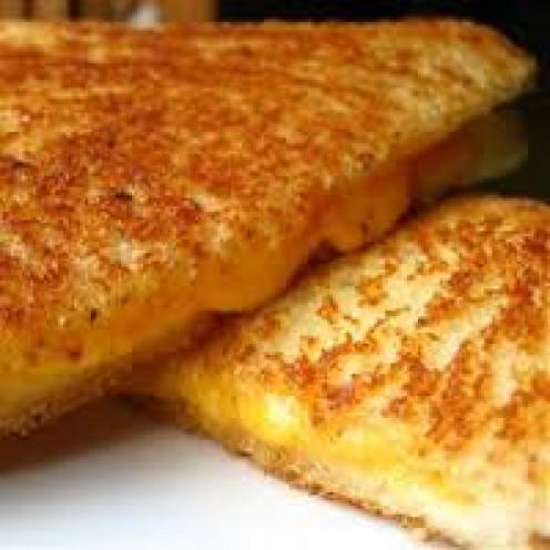 Grilled Cheese Sandwich, simple, classic and delicious