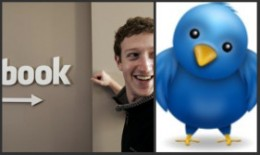 Facebook loses Face when Twitter Flies the Coop