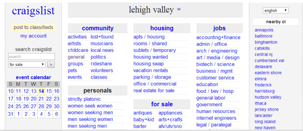 Why craigslist is losing favor with many classified for What s similar to craigslist