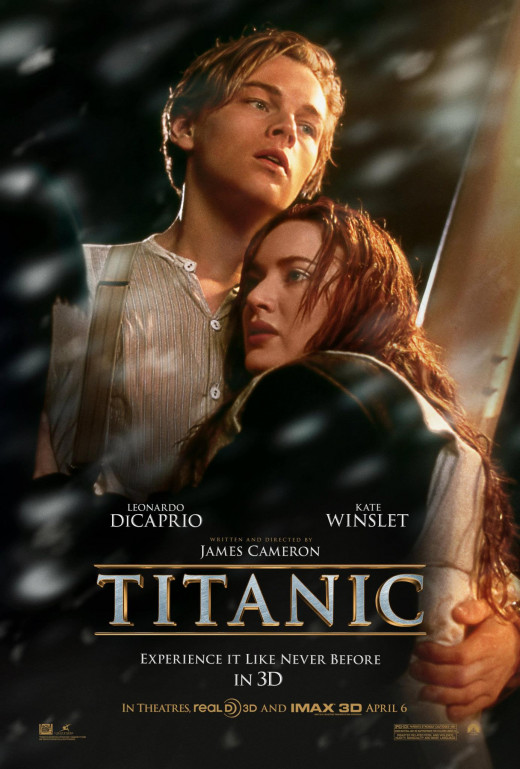 Titanic - the No.2 global 'box office' smash hit
