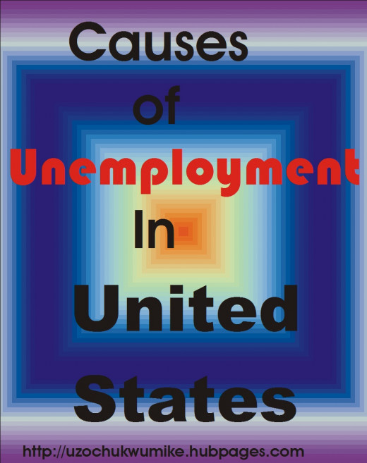 Causes of unemployment in the United States of America. The loss of jobs in U.S is a big challenge.