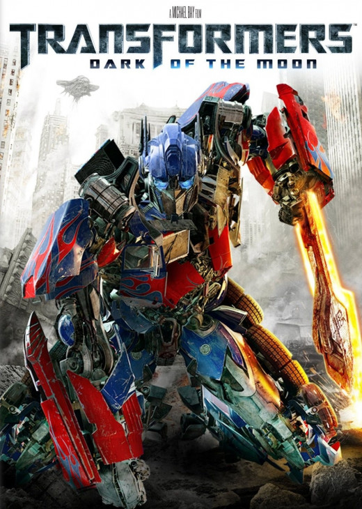 Transformers: Dark of the Moon - the No.7 global 'box office' smash hit