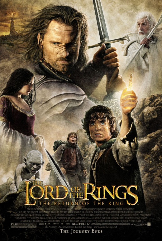 The Lord of the Rings: The Return of the King - the No.8 global 'box office' smash hit