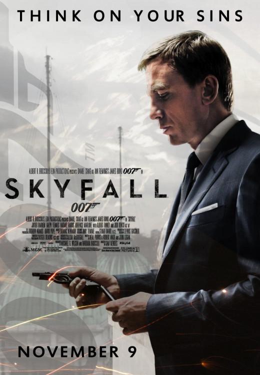 Skyfall - the No.9 global 'box office' smash hit