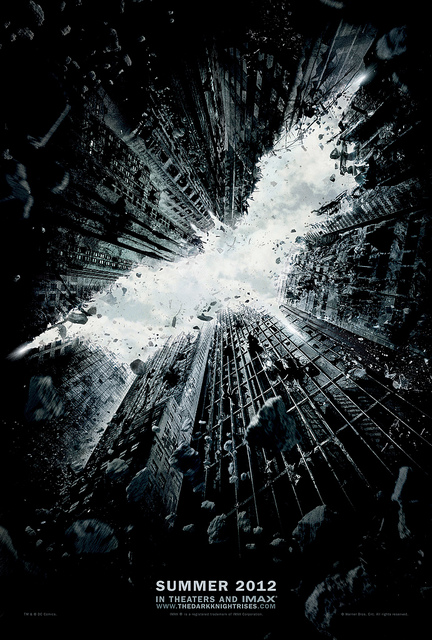 The Dark Knight Rises - the No.10 global 'box office' smash hit