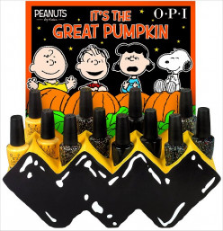OPI Peanuts Halloween Collection 2014