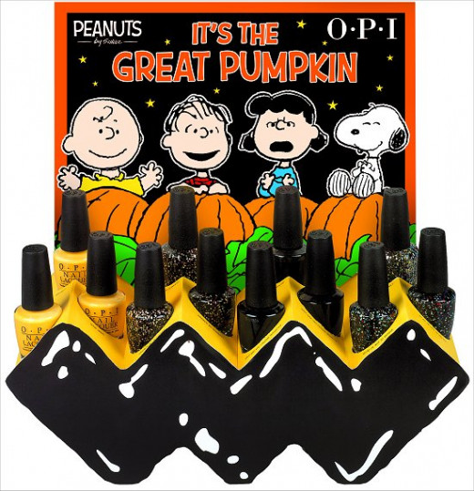 OPI Peanuts Collection | Halloween 2014
