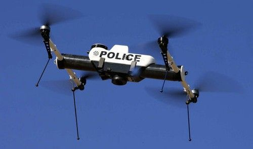Drones are being deployed by local police forces to aid in strategic responses to crime.