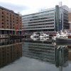 St Katharine Docks in London - a different place to visit with restaurants, bars and shops - aka St Catherine's Dock