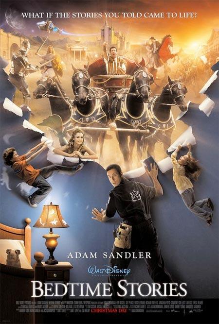 """Adam Sandler in """"Bedtime Stories"""""""