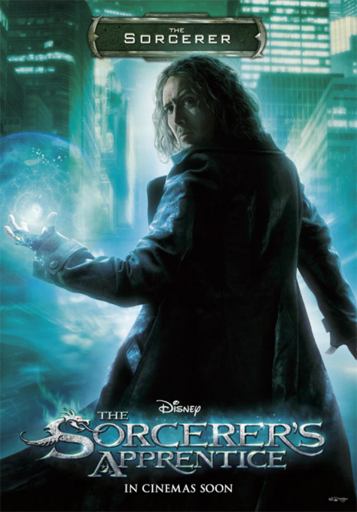 "Nicolas Cage in ""The Sorcerer's Apprentice"""