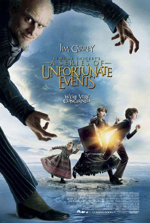 "Jim Carrey in ""Lemony Snicket's A Series of Unfortunate Events"""