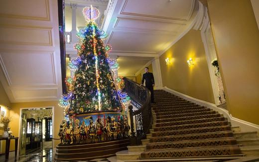 Christmas Tree at Claridge's