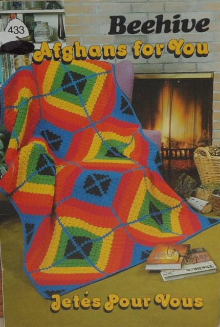 Patons yarn, book 433