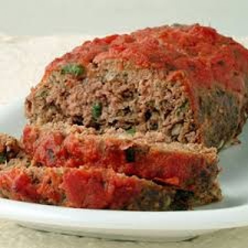 Meatloaf is delicious especially if it has onions and green bell peppers mixed in it.