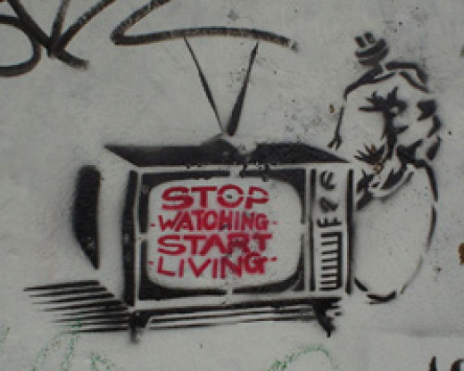 First Step Is To Stop Watching TV!