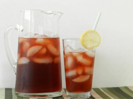 Some like it hot; some like it cold. A tall glass of ice tea in the summer is a cool treat.