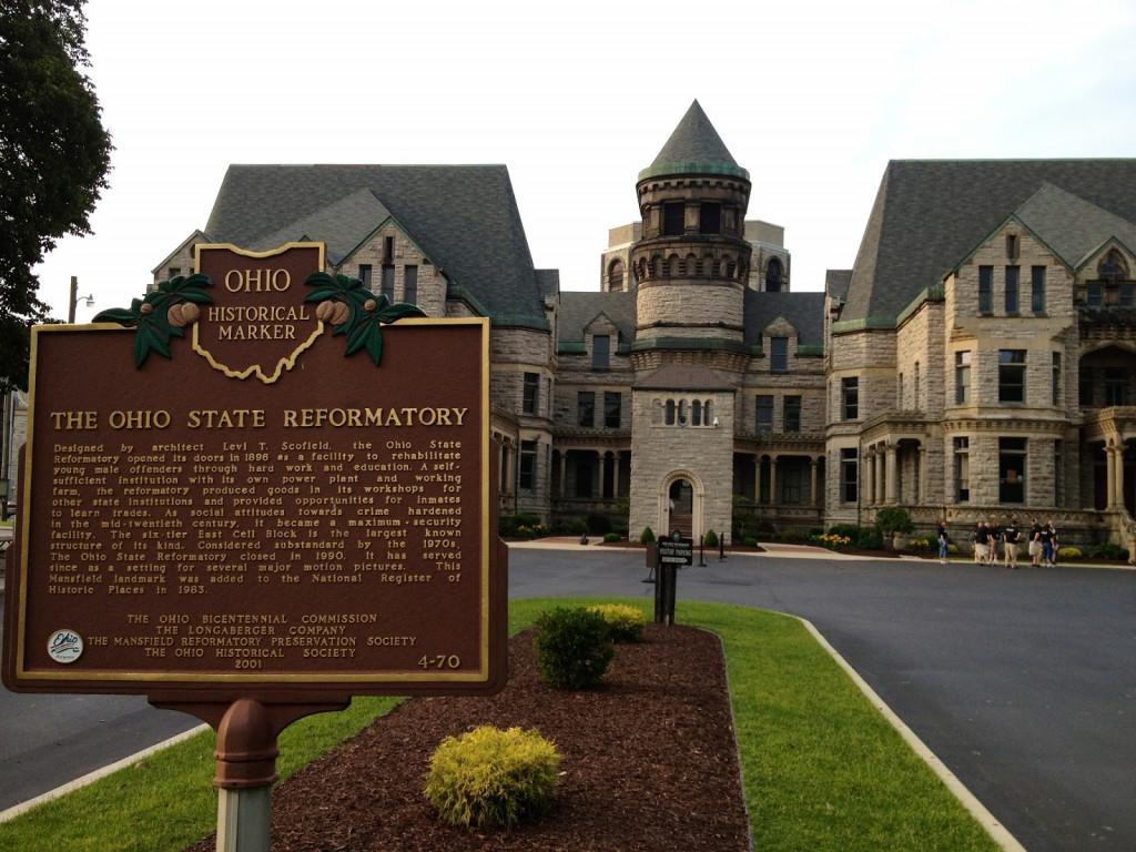 haunted locations: ohio state reformatory in mansfield, ohio