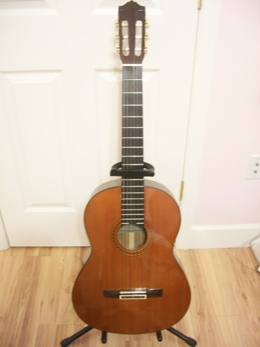 The Guitar is a good entry level guitar with a good start for any beginner.