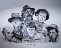 Photo of sketch in shop in Mount Airy