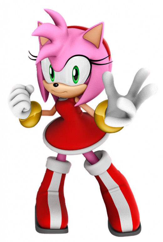 Amy Rose the way she looks today.