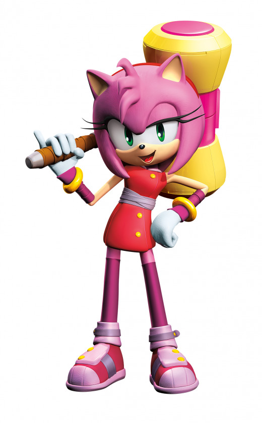 Amy Rose in Sonic Boom.