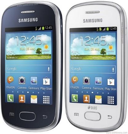 The original Samsung Galaxy Star.